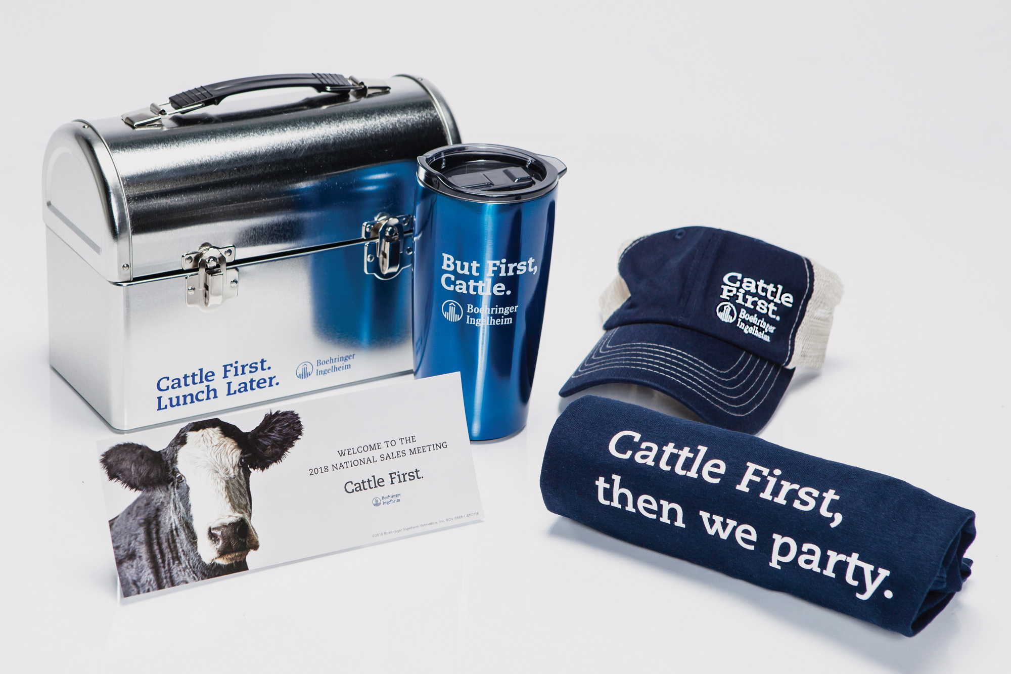 Cattle First internal promotion materials
